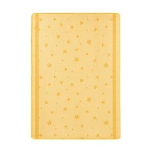Dětský žlutý koberec Zala Living Stars&Hearts,100x140cm