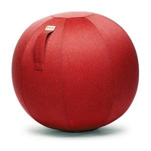 Červený sedací míč VLUV Leiv, Ø70- 75cm