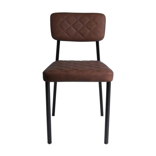 Tmavě hnědá židle Karlsson Retro