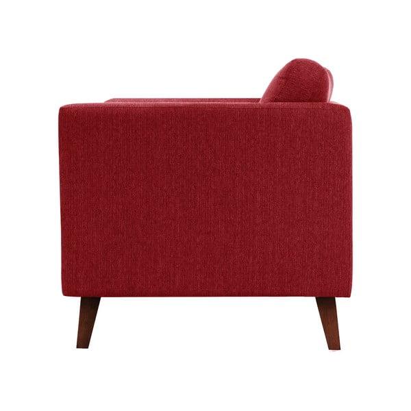 Červená trojmístná pohovka Jalouse Maison Elisa