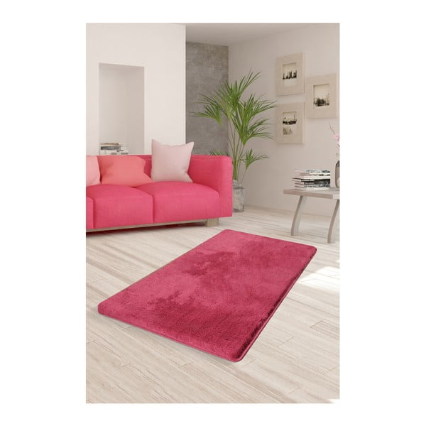Růžový koberec Milano, 120x70cm