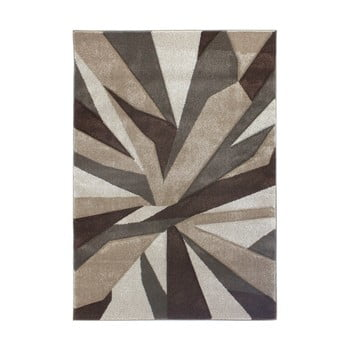 Covor Flair Rugs Shatter Beige Brown, 80 x 150 cm, bej – maro de la Flair Rugs