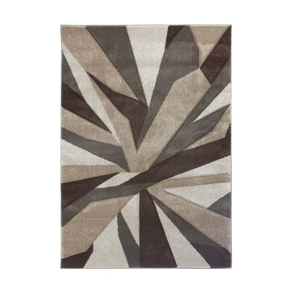 Covor Flair Rugs Shatter Beige Brown, 120 x 170 cm, bej - maro
