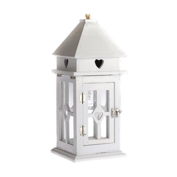 Dřevěná lucerna s LED osvětlením Dakls Sweet