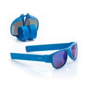 Modré sluneční srolovatelné brýle InnovaGoods Sunfold ES5