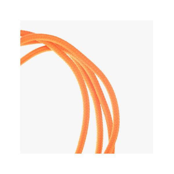 Micro-USB kabel, oranžový