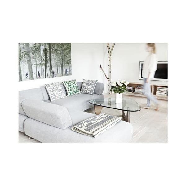 Polštář 50x50 cm, šedý