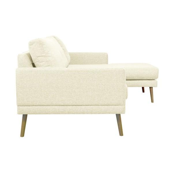 Rohová pohovka v přírodní barvě Windsor & Co Sofas Vega, pravý roh