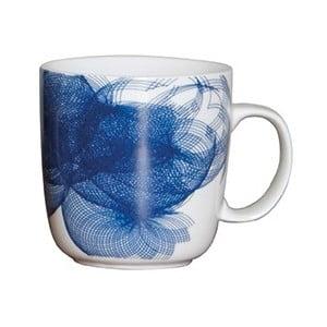 Porcelánový hrnek Art, modrý
