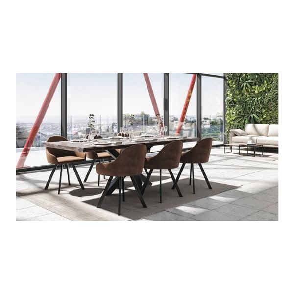 Jídelní stůl z dubového dřeva MESONICA Brook, 90 x 180 cm