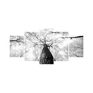 Vícedílný obraz Black&White no. 25, 100x50 cm
