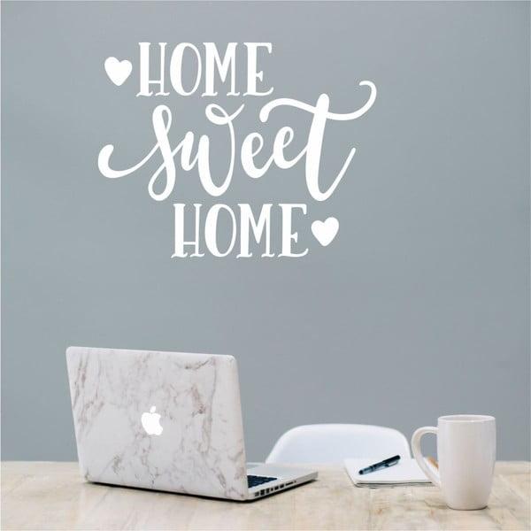 Autocolant North Carolina Scandinavian Home Decors Motto V36, alb