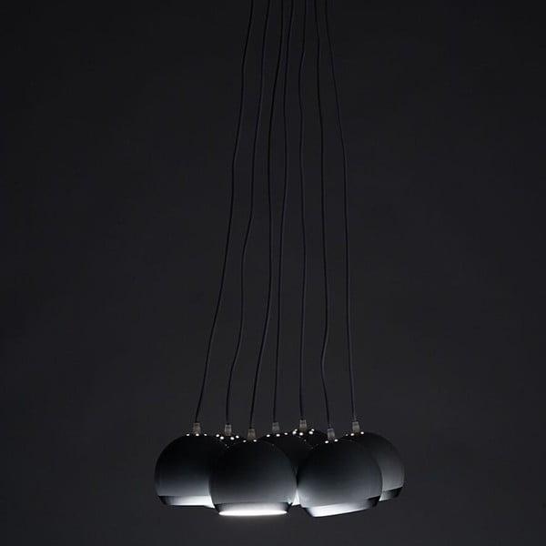 Bílé závěsné světlo Tomasucci Space