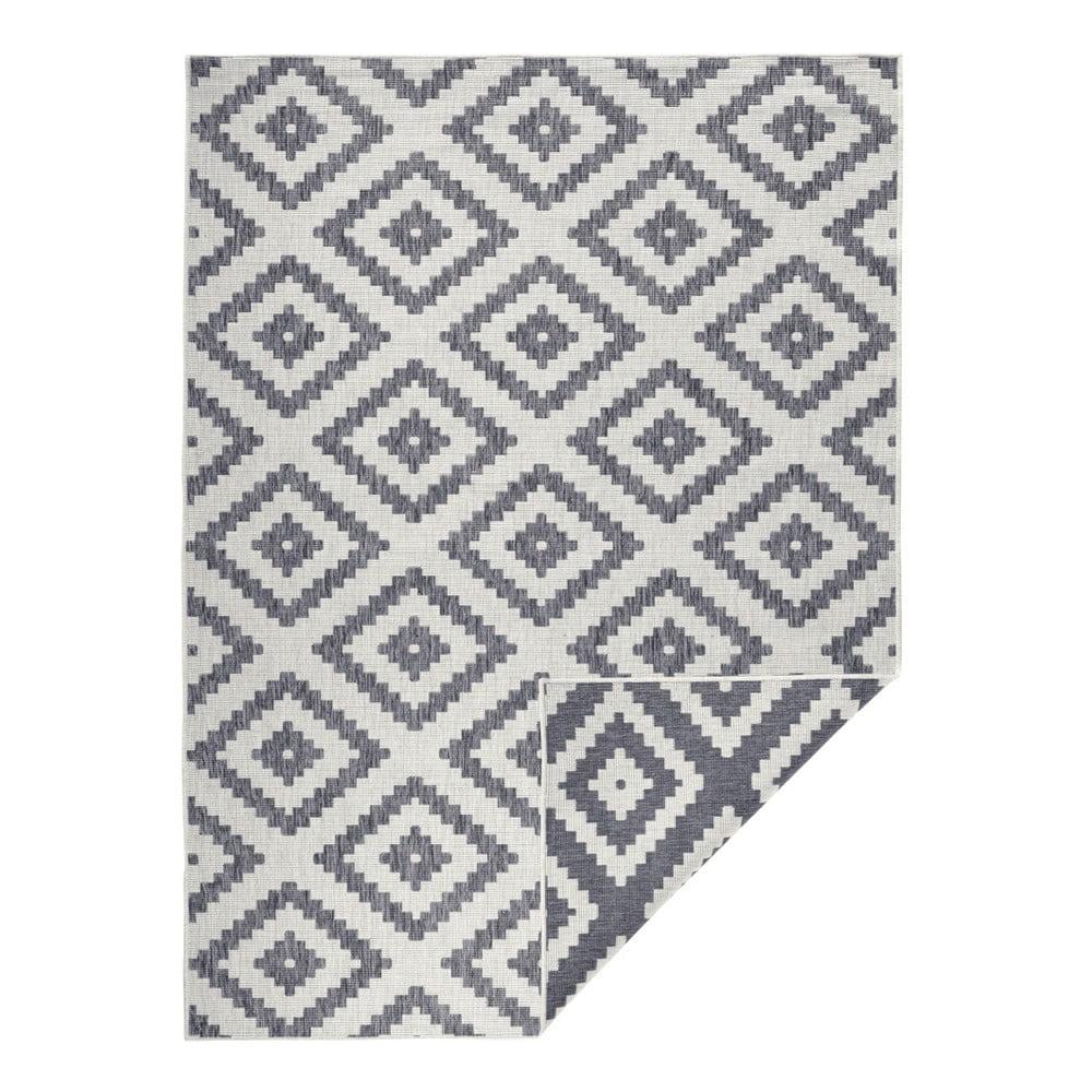 Šedý venkovní koberec Bougari Malta, 200 x 290 cm