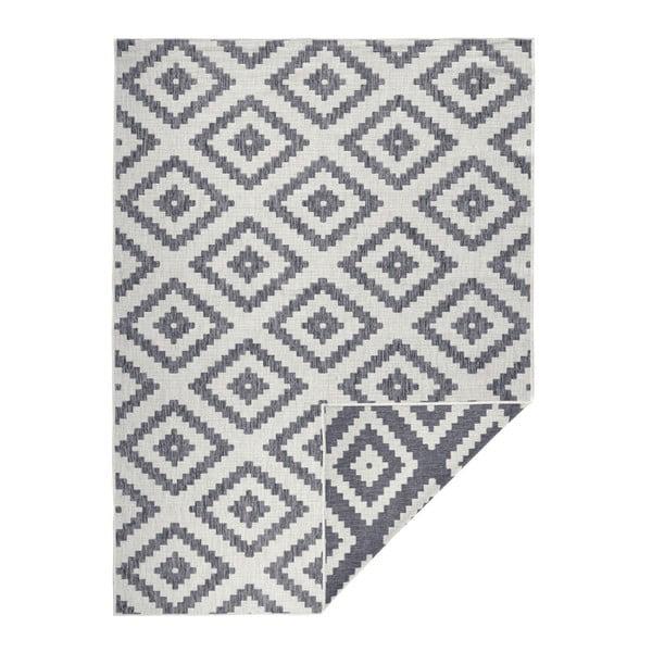Sivý vonkajší koberec Bougari Malta, 80 x 150 cm