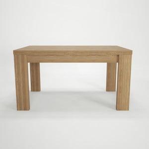 Jídelní rozkládací stůl z bukového dřeva Artemob, 160 x 75 cm