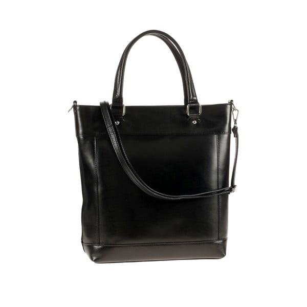 Kožená kabelka Ore Diece Albettone, černá