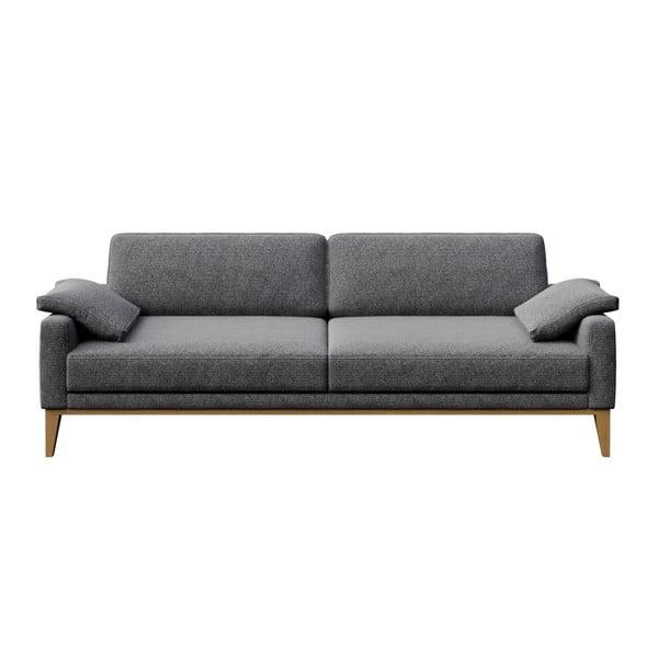 Canapea cu 3 locuri MESONICA Musso, cenușiu