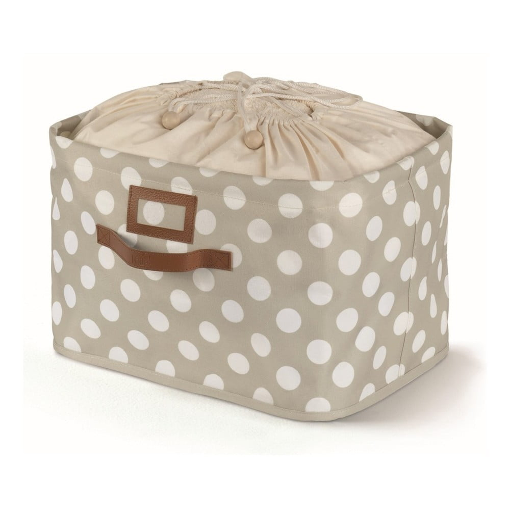 Béžový úložný box s vázáním Cosatto Jolie, 25 x 40 cm