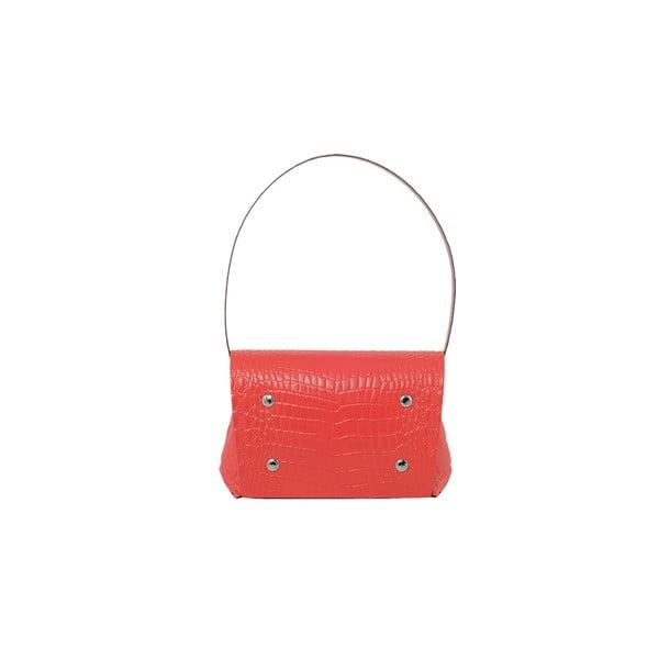 Kožená kabelka Maggiolina Red