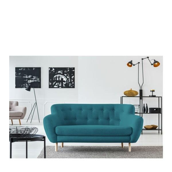 Canapea cu 2 locuri Cosmopolitan design London, turcoaz