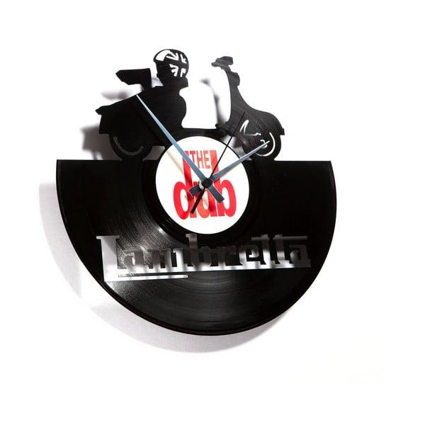 Vinylové hodiny Lambretta