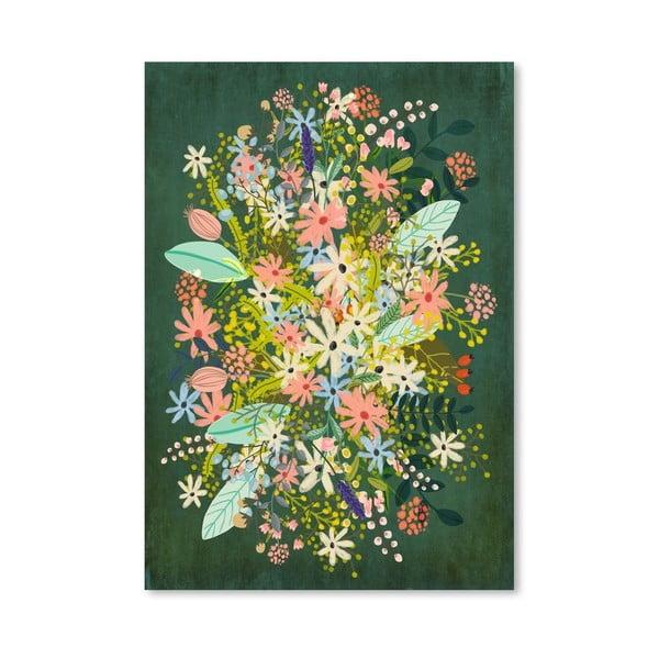 Plakát od Mia Charro - Flowers
