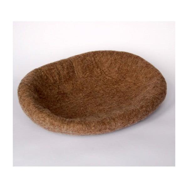 Plstěný pelíšek pro psa Ulita brown