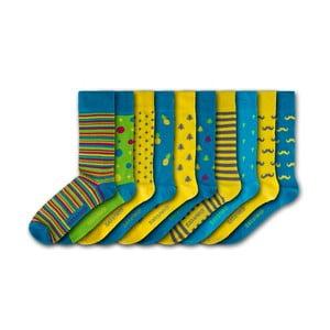 Sada 10 párů ponožek Black&Parker London Chelsea, vel.37-43