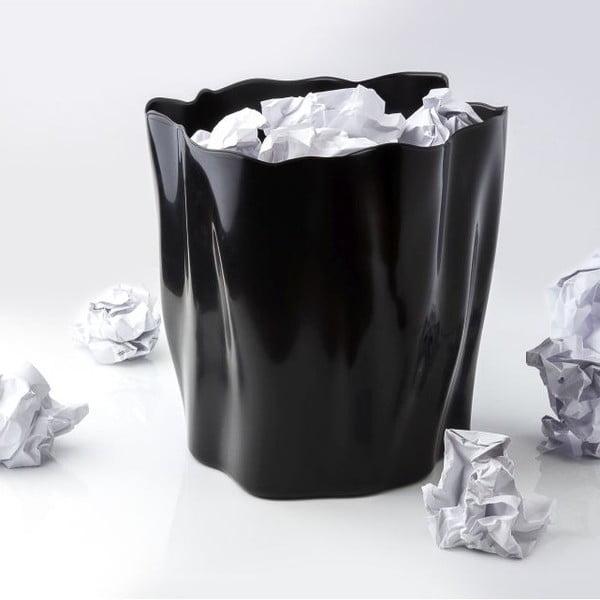 Odpadkový koš QUALY Flow Bin, černý