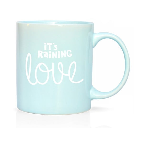 Porcelánový hrnek We Love Home Raining Love, 300 ml