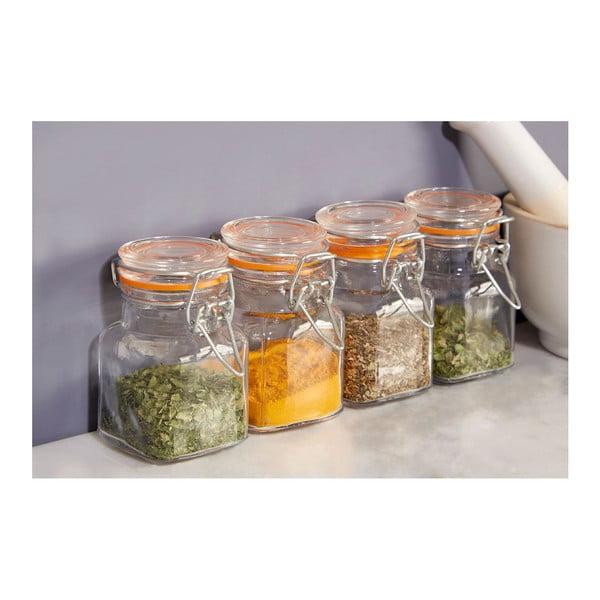 Set 4 recipiente pentru condimente Premier Housewares, 90 ml