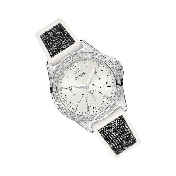 Zegarek damski z czarnym silikonowym paskiem Guess W1096L1