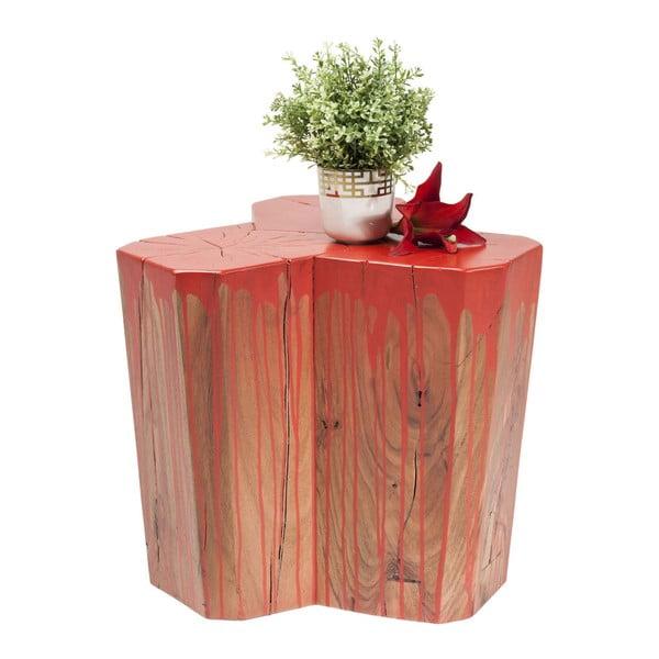 Červená stolička Kare Design Bunny
