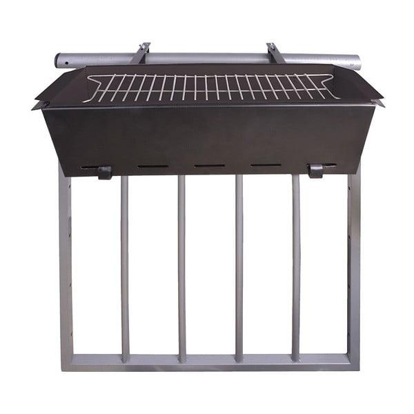 Závěsný gril na zábradlí balkónu Esschert Design BBQ