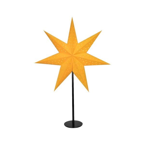 Decorațiune luminoasă Markslöjd Clara, înălțime 65 cm, portocaliu