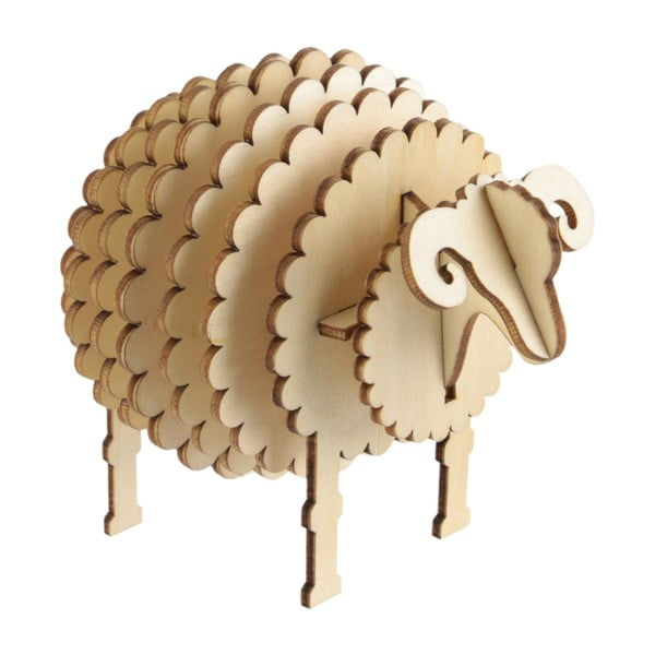 Dřevěné 3D puzzle Le Studio Sheep