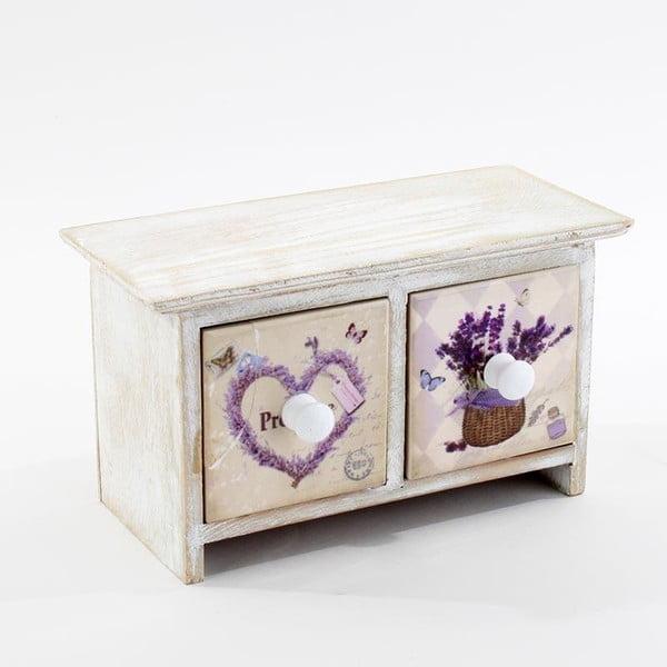 Šperkovnice Lavender Heart