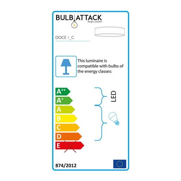 Žluté stropní svítidlo Bulb Attack Doce, ⌀ 40 cm