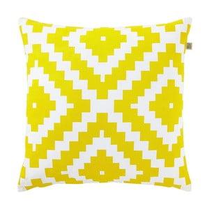 Polštář s náplní Serpentine Yellow, 45x45 cm