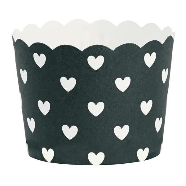 Sada 24 pečicích košíčků Miss Étoile Hearts