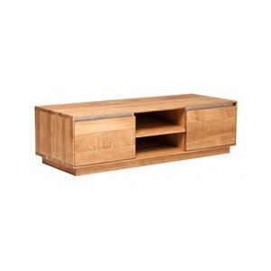 Televizní stolek z dubového dřeva Fornestas Hamilton, šířka 120cm
