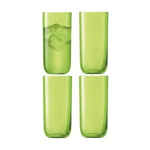 Centro Lime, vysoká sklenice, sada 4 ks