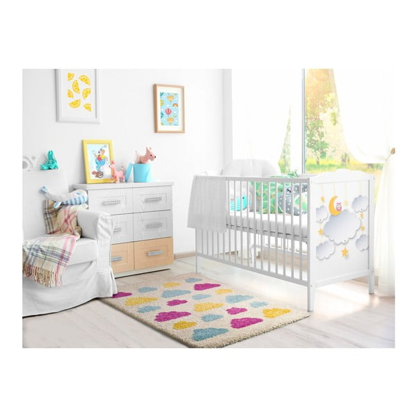 Dětský koberec Universal Cuore Blanco, 100x150cm