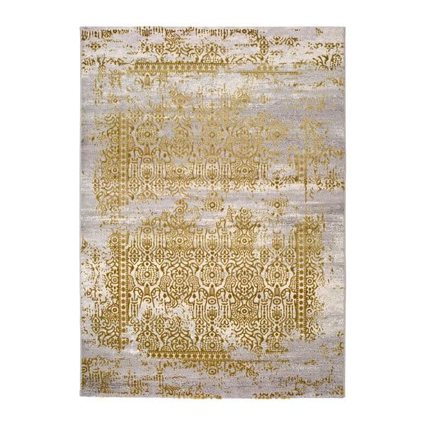 Covor Universal Arabela Gold, 140 x 200 cm, gri - auriu