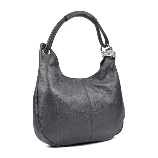 Černá kožená kabelka Isabella Rhea no. 1022