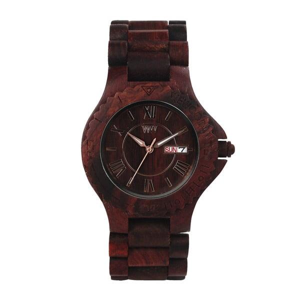 Dřevěné hodinky Roman Chocolate