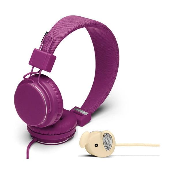 Sluchátka Plattan Grape + sluchátka Medis Cream ZDARMA