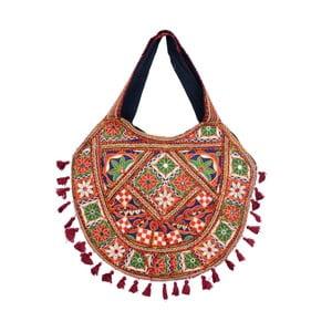 Ručně šitá taška Bolso India