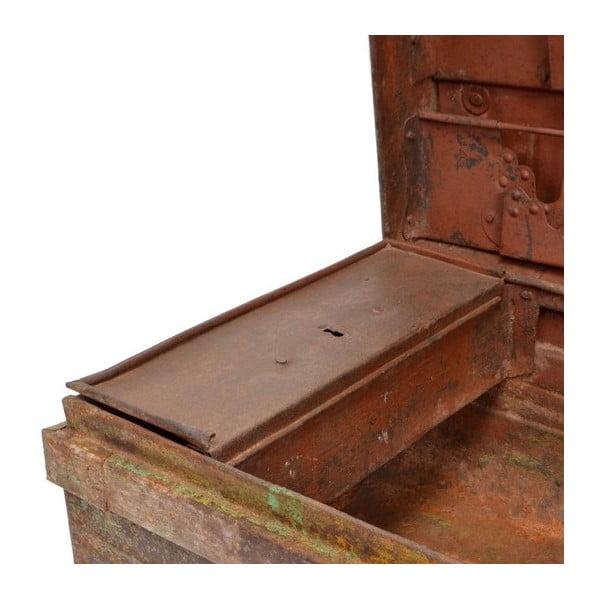 Kufr Orient 40x65 cm, hnědý